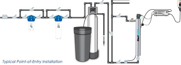 POE & POU Water Filter System Diagram
